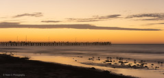 Semaphore Adelaide SA (Helen C Photography) Tags: semaphore adelaide australia beach ocean summer evening sunset water orange silhouette seascape jetty pier