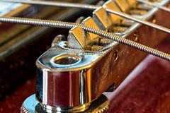 Guitarbridge (KPPG) Tags: macromondays hmm hobby gitarre guitar guitarbridge
