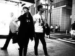 Street shot! (takana1964) Tags: streetphotography snap streetsnap street snapshot citysnap citystreet city cityphotography monochrome blackandwhite bw osakacity japan