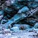 Fox Glacier - New Zealand (Bobinstow2010) Tags: glacier newzealand westcoast ice blue longwalk river stream cold wet rock freeze southisland