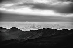 A Modern Piece of Sunrise (Thomas Hawk) Tags: america haleakala haleakalacrater haleakalānationalpark hawaii maui usa unitedstates unitedstatesofamerica bw sunrise volcano kula us fav10 fav25 fav50 fav100