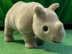 Fuzzy Rhino (tanith.watkins) Tags: fuzzytoy picktwo rhino fuzzy toy macromondays