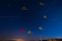 ISS - objects on the sky (Petnek) Tags: iss internationalspacestation irix15mm nikond750 blue dusk horizont longexposure night sky startrails
