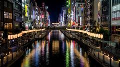 Dotombori, Osaka (beeldmark) Tags: kanaal nacht stad water osaka japan zomervakantie canal city gracht kansai night nihon nippon summerholiday ōsaka 大阪 日本 関西 smcpentaxda1224mmf4edalif beeldmark pentax k5 smcpda1224mmf40edalif