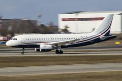 OE-LJG MJet Airbus A319-115(CJ) (Nathan_Ivanov) Tags: aircraft airplane vko vnukovo uuww spotting airbus businesjet