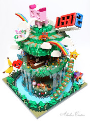 LEGO MOVIE DREAM TREE HOUSE 樂高電影夢幻樹屋 (alanboar) Tags: legomovie2 treehouse lego moc