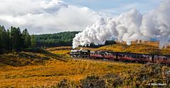 45407 - Rannoch - Scottish Bash 2014  (2) (Mike Heath Photo) Tags: west highlad line highlands rannoch moor scottish bash lms london midland stanier class 5 460 5407 45407