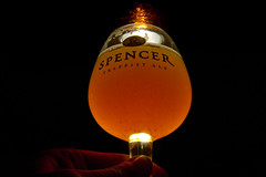 Beer Glow (brucetopher) Tags: light barlight spencertrappistale indiapaleale stjosephsabbey spencerbrewery spencer trappist ale india pale cloudy opaque orange yellow flavorful hops craft beer brew craftbeer craftbrew smallbatch americancraftbeer drink festive special celebration monk monks trappistmonk