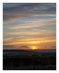 Clodhall Lane sunset (fishyfish_arcade) Tags: 18140mm d3200 landscape nikon peakdistrict sunset nikon18140mmf3556gedvr