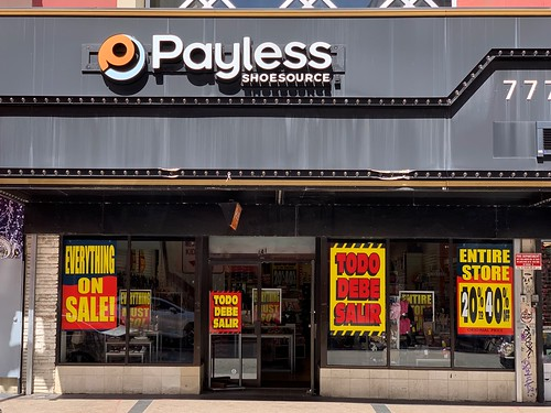Payless Going Out Of Business Sale Downtown Miami