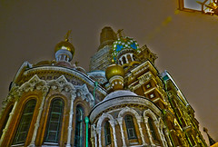 L'église du Sauveur-sur-le-Sang-Versé (Le.Patou) Tags: russie russia россия saintpétersbourg stpetersburg санкт петербург church orthodoxe bulbe polychromie nuit mosaic orthodox night fz1000 art architecture