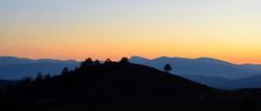 Un soir en Haute-Provence (RarOiseau) Tags: alpesdehauteprovence couchant paysage claret montagne silhouette arbre