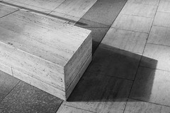 Exchange House (cybertect) Tags: broadgate carlzeissplanart50mmf14mm cityoflondon ec2 exchangehouse london londonec2 som skidmoreowingsandmerrill sonya7ii architecture blackwhite blackandwhite monochrome shadow