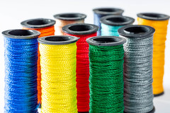 Multicolor sewing threads background (wuestenigel) Tags: clothing color textile needlework fashion roll collection material embroidery reel macro bobbin hobby fabric group thread sew tailor cord background colorful cotton spool bright craft leisure buttons object green needle sewing silk detail yarn garn spule nähen kunst string schnur baumwolle motley bunt handarbeit industry industrie farbe stickerei pattern muster textil wear tragen spiral rollen stoff texture textur dressmaker schneider desktop