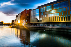 Sunset (Maria Eklind) Tags: skåne malmö sky sunset solljus himmel malmölive outdoor solnedgång cityscape sweden city skånelän sverige se