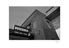 The Buckhorn (radspix) Tags: canon t90 28210mm vivitar cosina macro focusing zoom f3556 ilford fp4 plus pmk pyro
