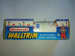 North American Decorative Products Super Mario Bros Nintendo Wall Trim 23 (gamescanner) Tags: north american decorative products super mario bros nintendo wall trim covering walltrim decor sculpted vinyl border upc 058559709011 058559709035 rosewall inc 1989 sku 70902