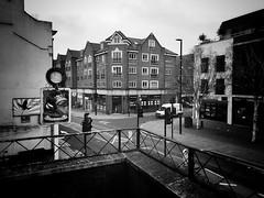 High Street, Brentford (dominicirons) Tags: brentford westlondon magpiecrown tallowroad highstreet blackwhite blackandwhite