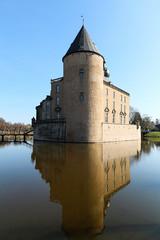 Gemen Castle (lluunnoo) Tags: borken noordrijnwestfalen duitsland de castle burg gemen water reflection historic monument heritage