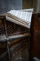 The Music Died (Wits End Photography) Tags: neglected notaiton building forsaken discarded old structure religion religious forgotten music spiritual piano rejected architecture decayed abandoned stlouis decay church instrument keyboard musical musicalinstrument