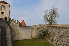 Trees in a old castle (Xtraphoto) Tags: burg castle trees bäume old alt burghausen bavaria bayern