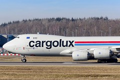 Cargolux - Boeing 747-8F [LX-VCG] at Luxembourg Airport - 16/02/19 (David Siedler) Tags: cargolux boeing boeing747 boeing748 boeing7478f b747f b748f lxvcg luxembourg findel airport luxembourgairport findelairport