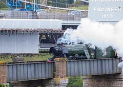 Flying Scotsman 6th October 2018 #2 (JDurston2009) Tags: royalalbertbridge saltash train steamtrain flyingscotsman 60103