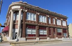 Old Cleburne County Bank (Heber Springs, Arkansas) (courthouselover) Tags: arkansas ar cleburnecounty hebersprings banks arkansasozarks ozarkmountains northamerica unitedstates us
