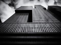 De Rotterdam (Feldore) Tags: holland rotterdam de modern architecture brutalist brutalism netherlands abstract tower skyscraper feldore mchugh em1 olympus 1240mm glass mono pov futuristic