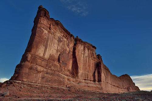 A Sweeping View with the Tower of Babel (Arches National Park)