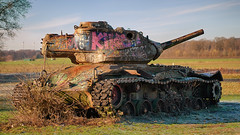 M47 Patton (ChristianMandel) Tags: tank panzer m47patton hdr delmenhorst grosehöhe ilce7iii sonya7iii sel85f18