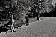 in silence (Sergei_41) Tags: park girl россия волгоград чб монохром monoart monochrome monochromatic monotone tree asphalt silence smartphone samsunggalaxy s7 mobilephoto city citylife cityscape streetphoto streetphotographer streetarteverywhere street streetlife tagsforlikes flickrfriday wb blackandwhite blancoynegro noir blackphoto blackandwhitephotography blackwhite blackandwhitephoto bwstyleoftheday bwlover bwwednesday bw bwsociety bwstyles bnwcapture bnwcity bnwmood bnwlife bnw bnwsociety bnwdemand russianphoto russianpics russia volgograd russianlook russianbeauty russianstyle russiangirls russiangirl sun sunnyday sunshine sunlight autumn autumnweather lines