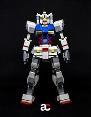 RX 78 2 V3.0 Lego Gundam 2019 (anchifez) Tags: lego gundam mecha moc legomech robot flickr