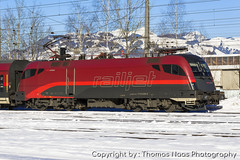 ÖBB, 1116 248-6 : RailJet (Thomas Naas Photography) Tags: österreich austria eisenbahn railways zug züge train lokomotiven lokomotives fahrzeuge outdoor kufstein siemens taurus es64u2 railjet öbb