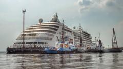 Rio Negro - Silver Spirit (sileneandrade10) Tags: sileneandrade rionegro navio cruzeiro photoedition hdr rio água