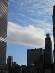 2019 February Building Cloud Reflection 2578 (Brechtbug) Tags: 2019 february afternoon light again virtual clock tower from hells kitchen clinton near times square broadway nyc 02272019 new york city midtown manhattan winter weather building breezy cloud hell s nemo southern view