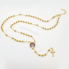 Latest Rosary Design (kaashusa) Tags: guadalupe espiritosanto goldplated rosary lady design necklace collection wholesalejewelry chains