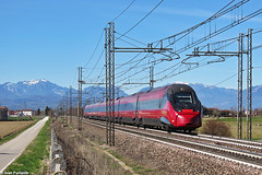NTV ETR 675 04. Grisignano di Zocco (Ivan Furlanis) Tags: treno train zug ferrovia bahn eisenbahn rail railway railroad italia italy italien veneto