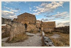Ermita de San Frutos (Hoces del Duratón, Segovia) (Jose Manuel Cano) Tags: ermita sanfrutos iglesia church segovia españa spain color colour nikond5100 nube cloud duratón