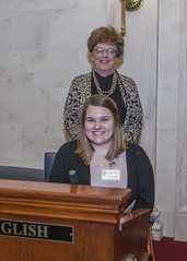 3-20-19 Blakely Baker page for Sen Jane English (Arkansas Secretary of State) Tags: 32019 blakely baker page for sen jane english