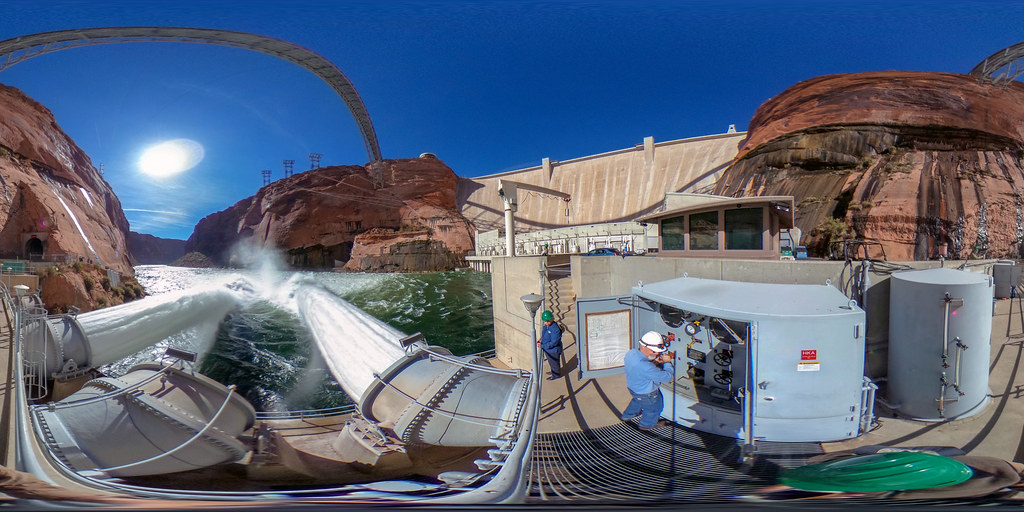 2018 Glen Canyon Dam, High-flow Release  360° R0010577