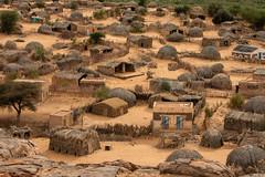 Little village (s_andreja) Tags: mauritania desert village terjit huts