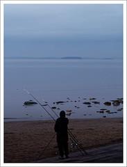 bos-dusk-1100361-030119_DxO (Peadingle) Tags: burnhamonsea somerset sunset dusk light sea angler fisherman