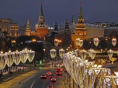 Night light in Moscow (janepesle) Tags: russia moscow night light city cityscape architecture street new year christmas celebration illumination kremlin travel building москва кремль
