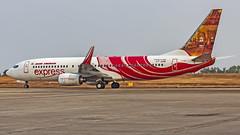 Air India Express Boeing B737-800 VT-AXM Mangalore (IXE/VOML) (Aiel) Tags: airindiaexpress boeing b737 b737800 vtaxm mangalore canon60d tamron70300vc