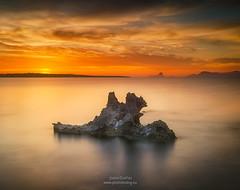 Formentera sunset (joana dueñas) Tags: formentera balearicislands spain seascape sunset clouds sun spring joanadueñas photofeeling