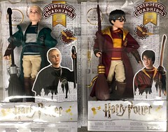 How cool - saw these at Walmart (Foxy Belle) Tags: walmart harry potter quidditch uniform barbie matttel boy poseable malfoy