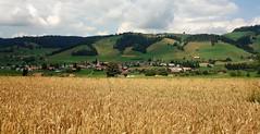 DSC05625 (ursrüegsegger) Tags: linden juli august getreideernte bauernhöfe landschaft regenbogen