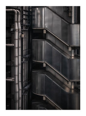 If H.R. Giger made buildings... (Rich Walker Photography) Tags: london architecture buildings building lloyds abstract giger art metal pipes canon efs1585mmisusm england eos eos80d