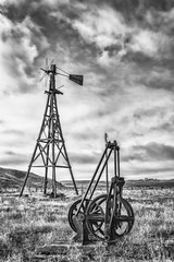 Worn-out Windmill (PNW-Photography) Tags: abandoned rurex lost found eltopia washington rusty dusty old rust dust